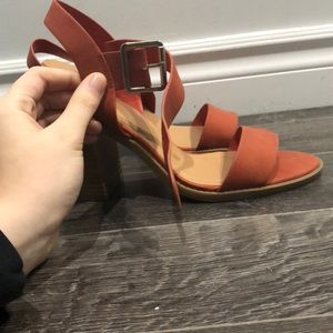🌟2 for 35$ Burnt Orange Heeled Sandal